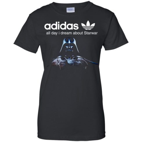 image 410 490x490px Adidas all day I dream about Starwar t shirts, hoodies, tank top