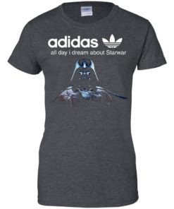 image 411 247x296px Adidas all day I dream about Starwar t shirts, hoodies, tank top