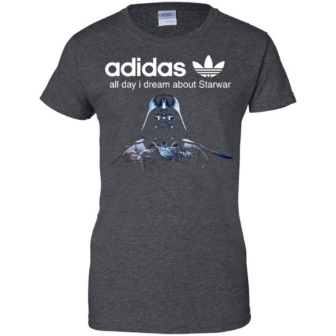 image 411 490x490px Adidas all day I dream about Starwar t shirts, hoodies, tank top