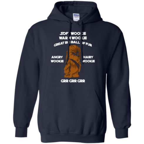 image 42 490x490px Star Wars: Soft Wookie Warm Wookie Great Big Ball Of Fur Angry Wookie Hairy Wookie T Shirts