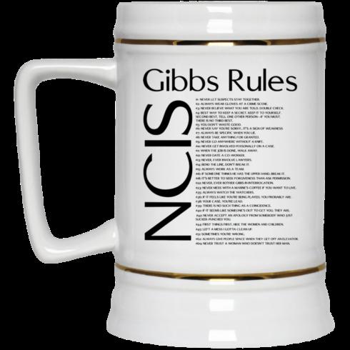 image 423 490x490px NCIS Gibbs Rules Coffee Mug