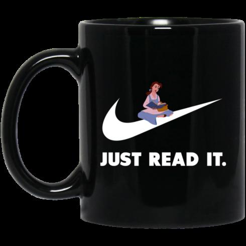 image 424 490x490px Just Read It Belle Disney Girl Coffee Mug