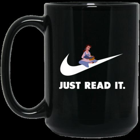 image 425 490x490px Just Read It Belle Disney Girl Coffee Mug