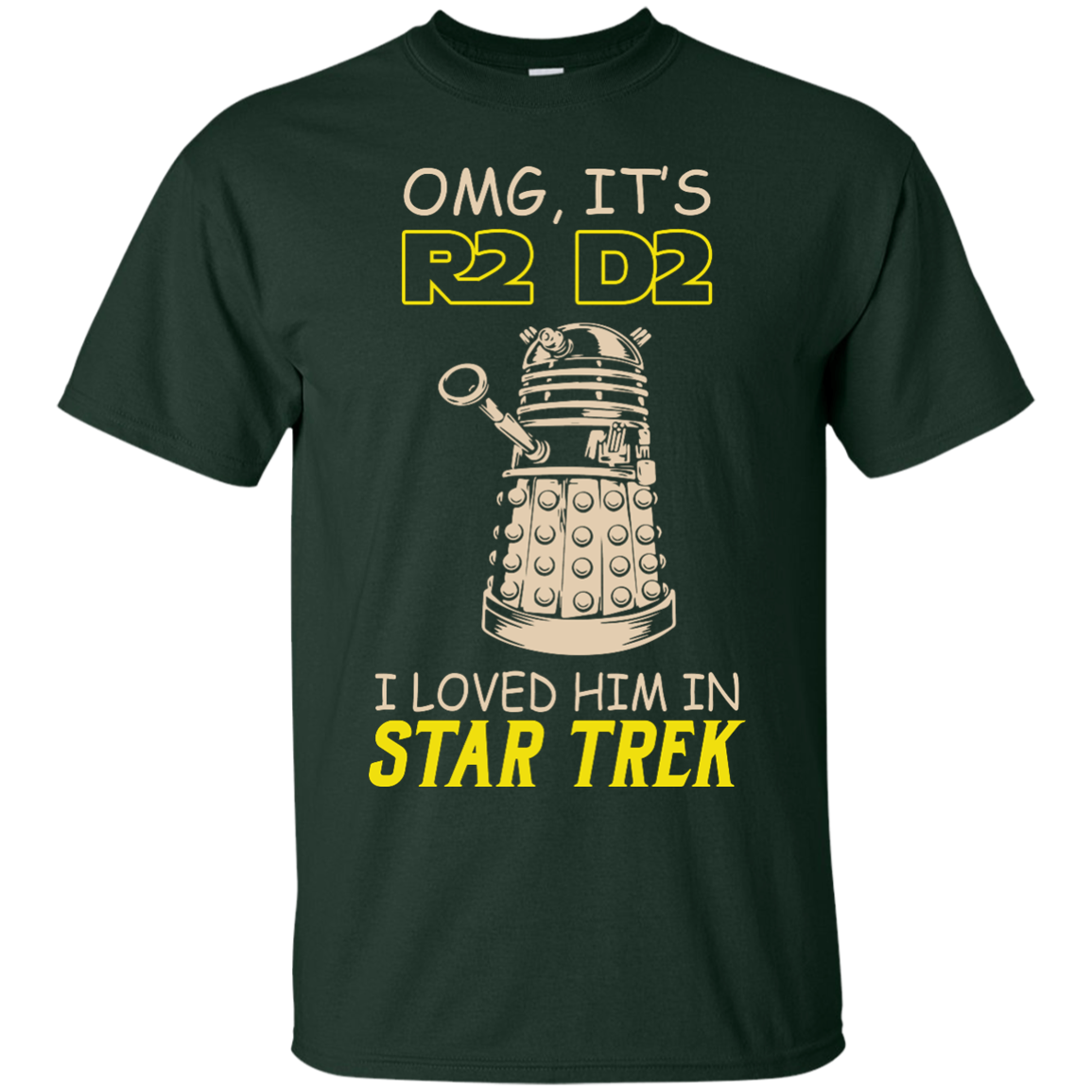 image 436px Omg It's R2 D2 I Loved Him In Star Trek T Shirts, Hoodies, Tank