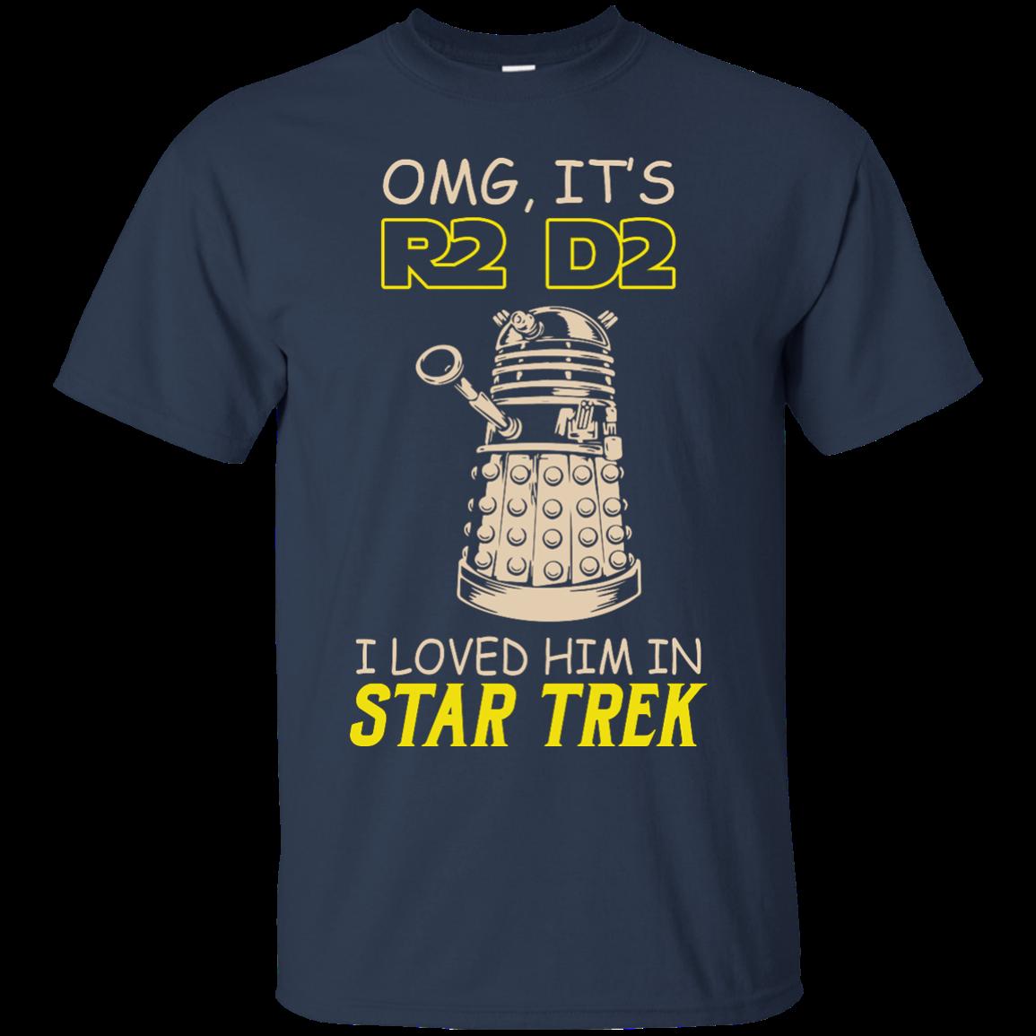 image 437px Omg It's R2 D2 I Loved Him In Star Trek T Shirts, Hoodies, Tank