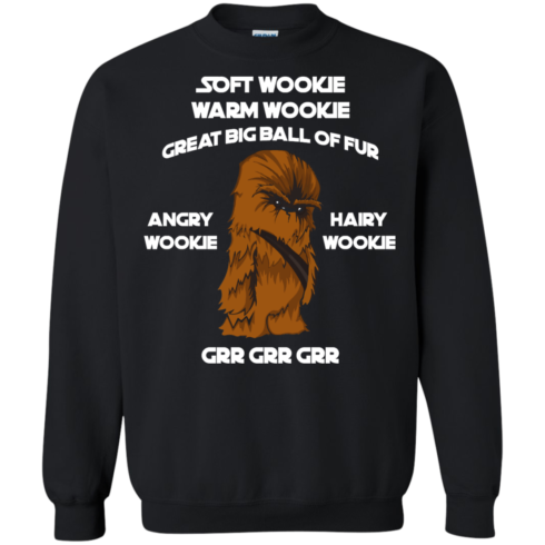 image 44 490x490px Star Wars: Soft Wookie Warm Wookie Great Big Ball Of Fur Angry Wookie Hairy Wookie T Shirts