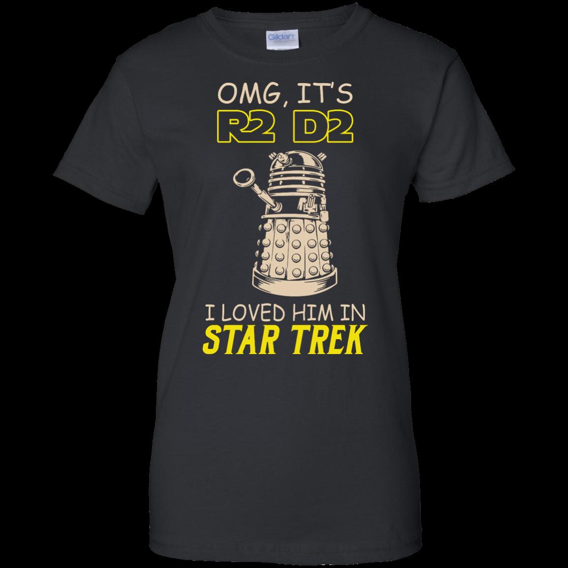 image 444px Omg It's R2 D2 I Loved Him In Star Trek T Shirts, Hoodies, Tank