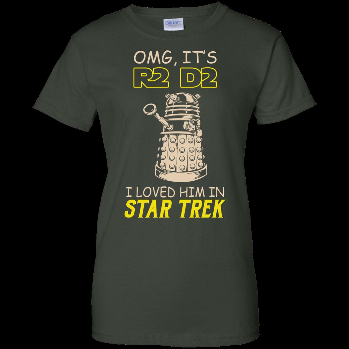 image 445px Omg It's R2 D2 I Loved Him In Star Trek T Shirts, Hoodies, Tank