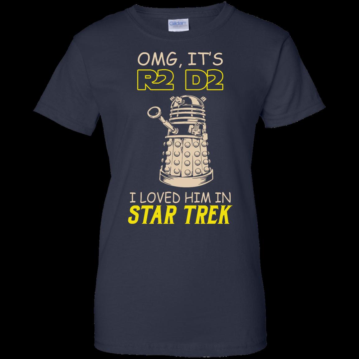 image 446px Omg It's R2 D2 I Loved Him In Star Trek T Shirts, Hoodies, Tank