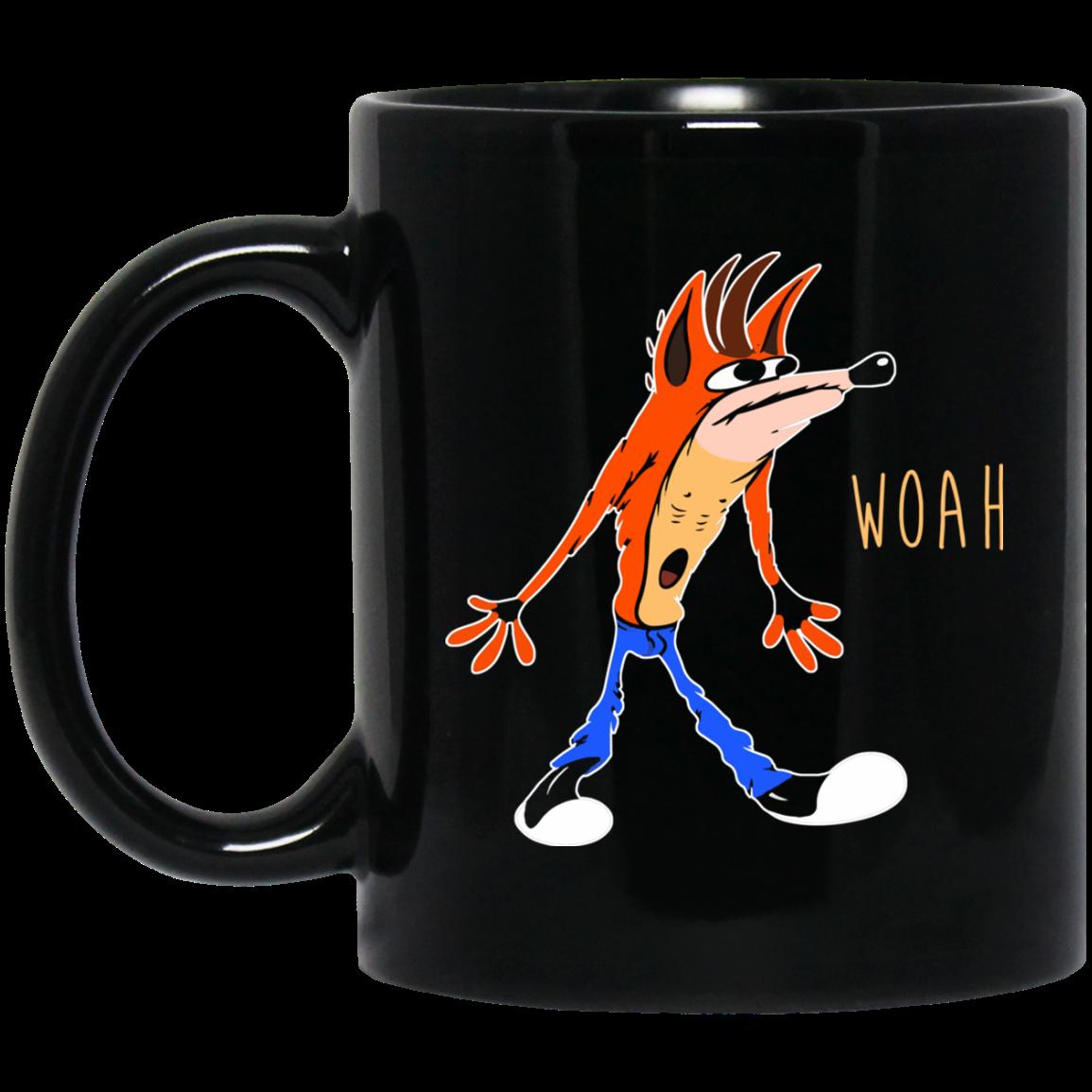 image 459px Crash Bandicoot Woah Coffee Mug