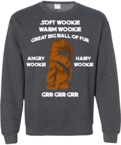 image 46 247x296px Star Wars: Soft Wookie Warm Wookie Great Big Ball Of Fur Angry Wookie Hairy Wookie T Shirts