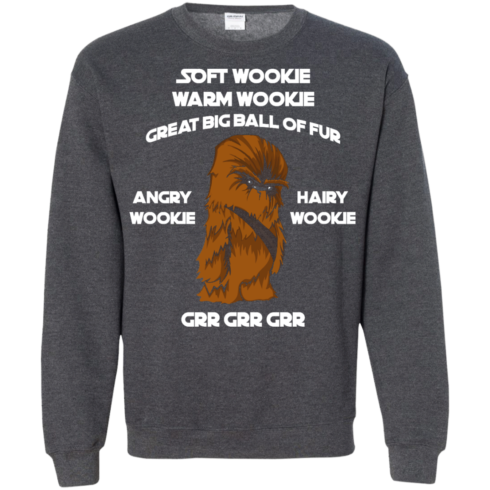 image 46 490x490px Star Wars: Soft Wookie Warm Wookie Great Big Ball Of Fur Angry Wookie Hairy Wookie T Shirts