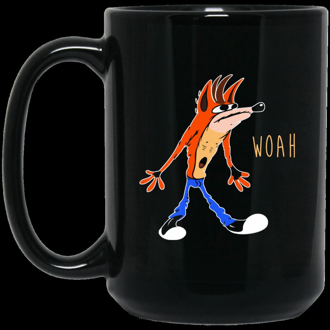 image 460px Crash Bandicoot Woah Coffee Mug