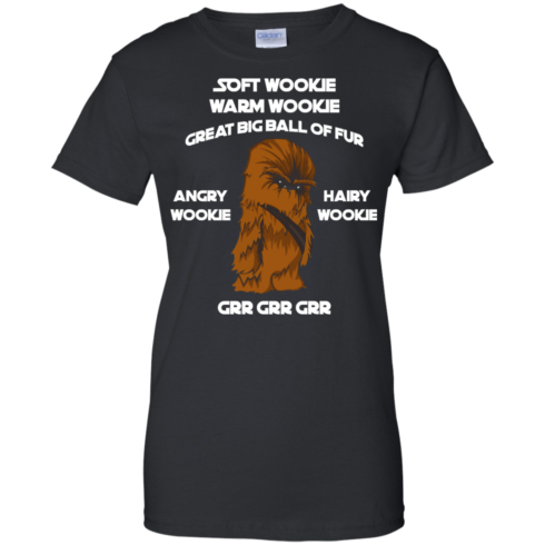 image 47 490x490px Star Wars: Soft Wookie Warm Wookie Great Big Ball Of Fur Angry Wookie Hairy Wookie T Shirts