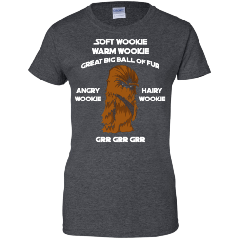 image 48 490x490px Star Wars: Soft Wookie Warm Wookie Great Big Ball Of Fur Angry Wookie Hairy Wookie T Shirts