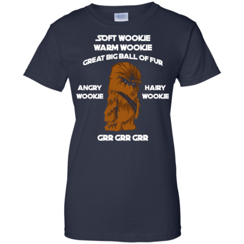 image 49 490x490px Star Wars: Soft Wookie Warm Wookie Great Big Ball Of Fur Angry Wookie Hairy Wookie T Shirts