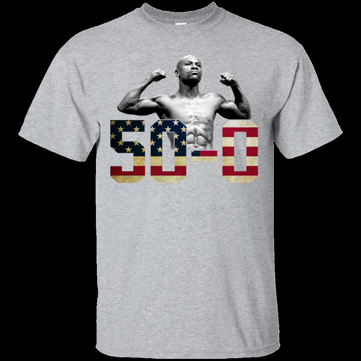 image 501px Floyd Mayweather 50 0 Shirt, Hoodies, Tank