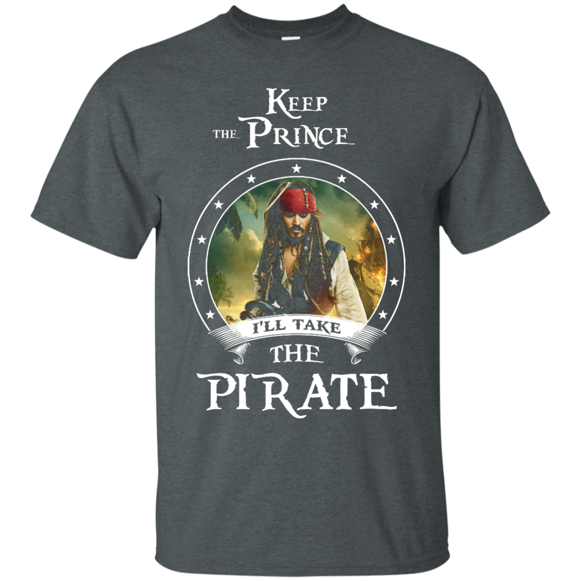 image 51px Pirates Of the Caribbean: Keep The Prince I'll Take The Pirate T Shirts, Hoodies