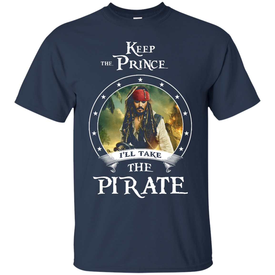 image 52px Pirates Of the Caribbean: Keep The Prince I'll Take The Pirate T Shirts, Hoodies