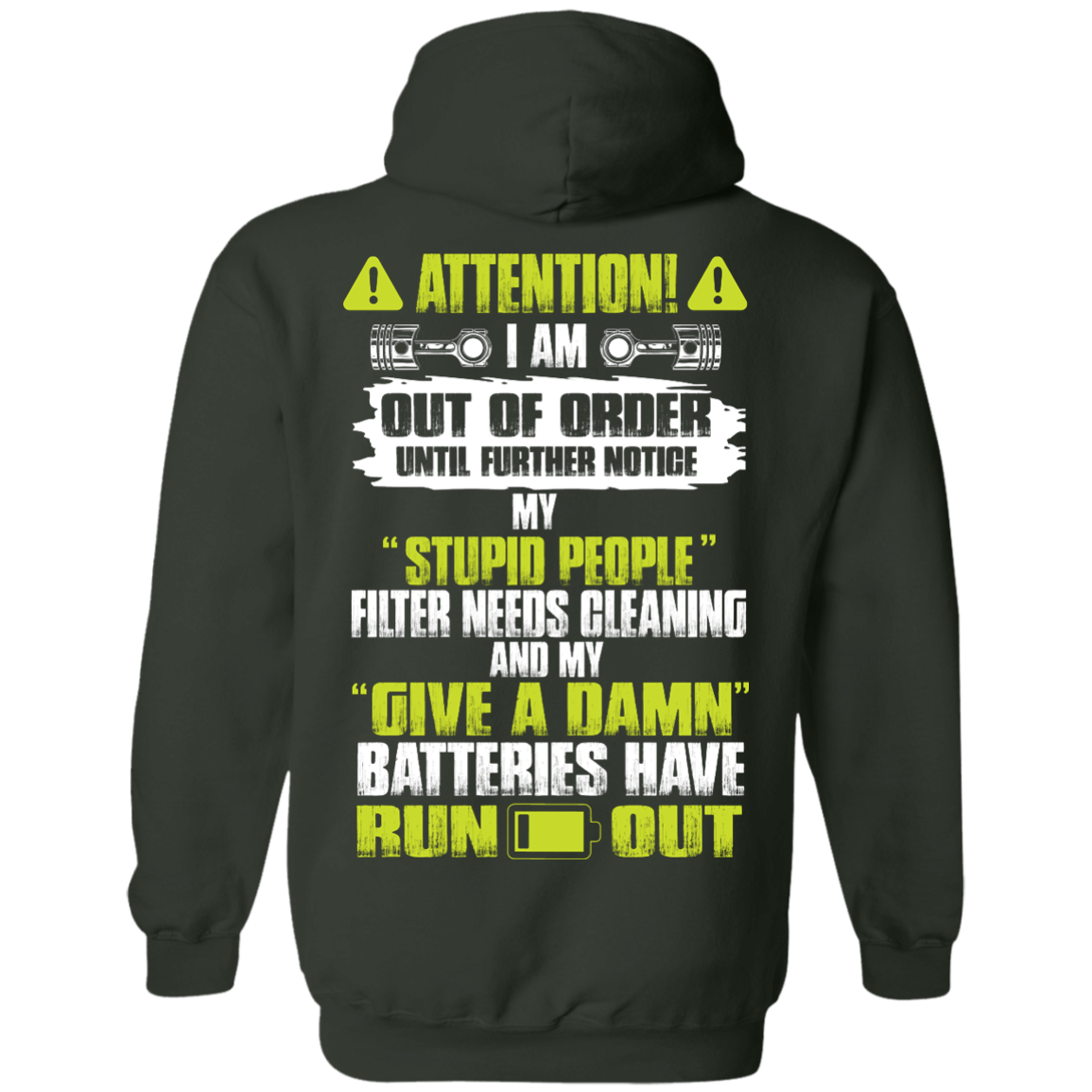 image 522px Attention I Am Out Of Order Until Further Notice, My Stupid People Filter Needs Cleaning T Shirts, Hoodies, Tank