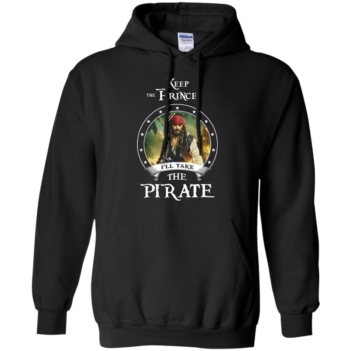 image 53px Pirates Of the Caribbean: Keep The Prince I'll Take The Pirate T Shirts, Hoodies