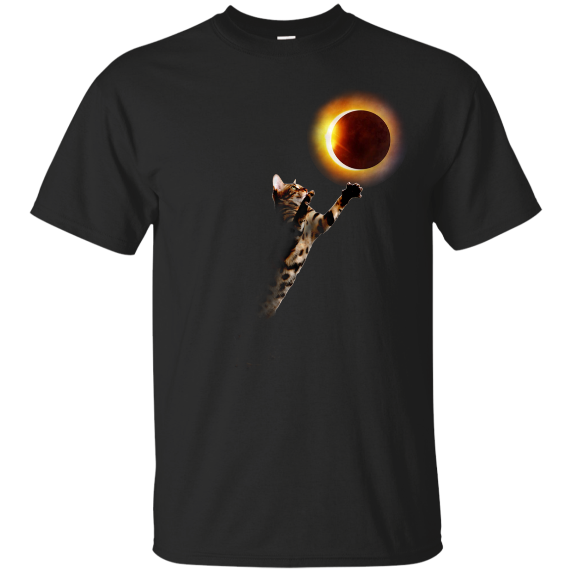 image 532px Cat Total Solar Eclipse 2017 T Shirts, Hoodies, Sweater, Tank