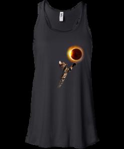 image 533 247x296px Cat Total Solar Eclipse 2017 T Shirts, Hoodies, Sweater, Tank