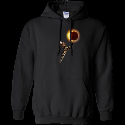 image 535 490x490px Cat Total Solar Eclipse 2017 T Shirts, Hoodies, Sweater, Tank