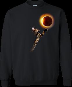 image 536 247x296px Cat Total Solar Eclipse 2017 T Shirts, Hoodies, Sweater, Tank
