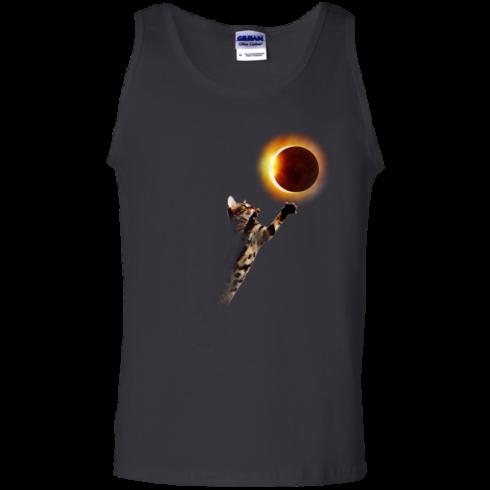 image 537 490x490px Cat Total Solar Eclipse 2017 T Shirts, Hoodies, Sweater, Tank