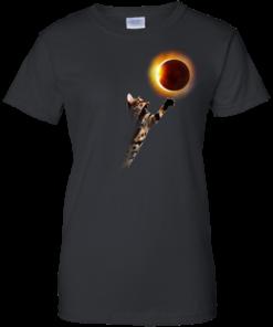 image 538 247x296px Cat Total Solar Eclipse 2017 T Shirts, Hoodies, Sweater, Tank