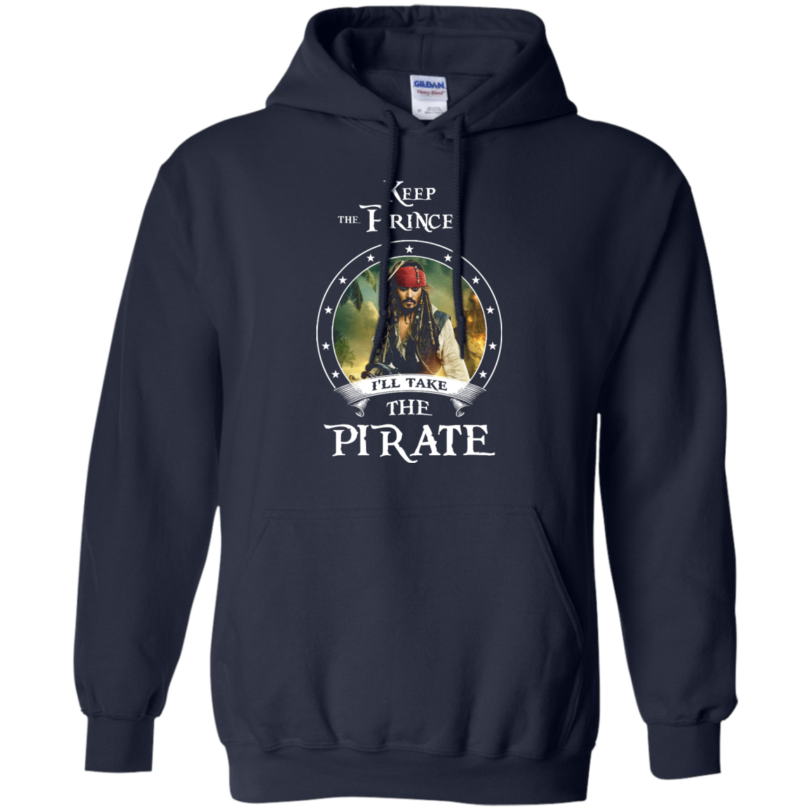 image 54px Pirates Of the Caribbean: Keep The Prince I'll Take The Pirate T Shirts, Hoodies