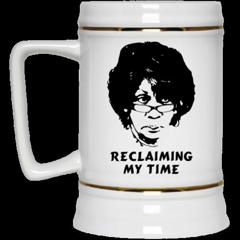 image 544 490x490px Maxine Waters: Reclaiming My Time Coffee Mug