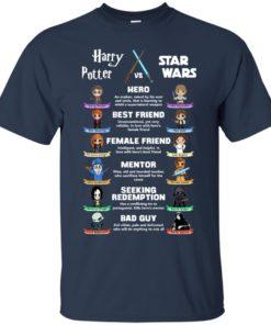 image 548 247x296px Harry Potter vs Star Wars: Hero, Best Friend, Female Friend T Shirts, Hoodies, Tank