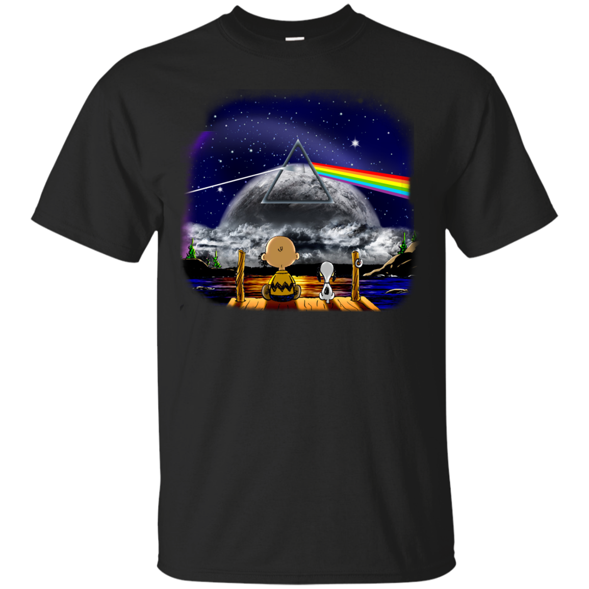 image 554px Snoopy: Pink Floyd Plays The Total Solar Eclipse August 2017 T Shirts, Hoodies, Tank