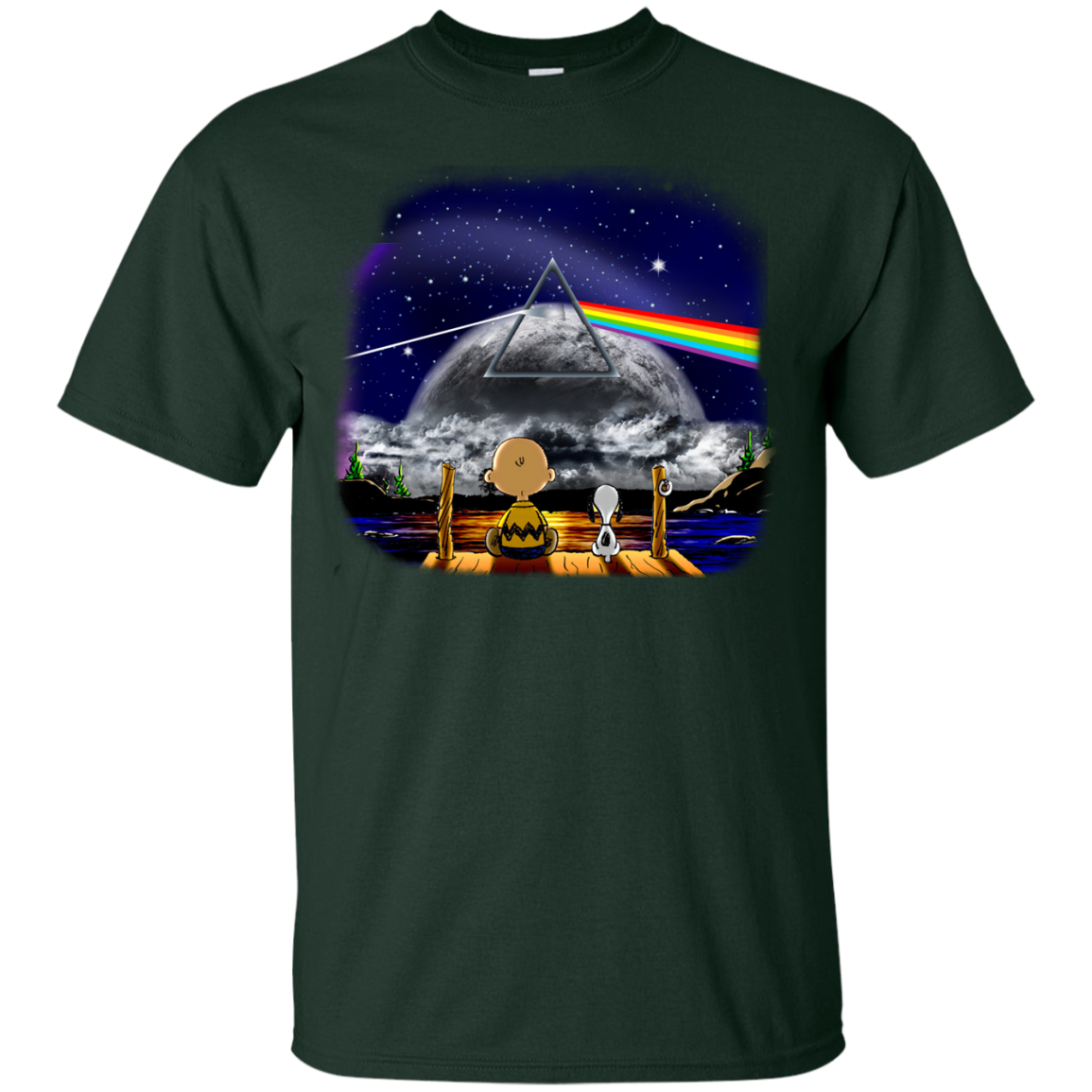 image 555px Snoopy: Pink Floyd Plays The Total Solar Eclipse August 2017 T Shirts, Hoodies, Tank
