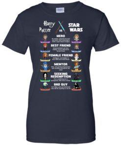 image 556 247x296px Harry Potter vs Star Wars: Hero, Best Friend, Female Friend T Shirts, Hoodies, Tank