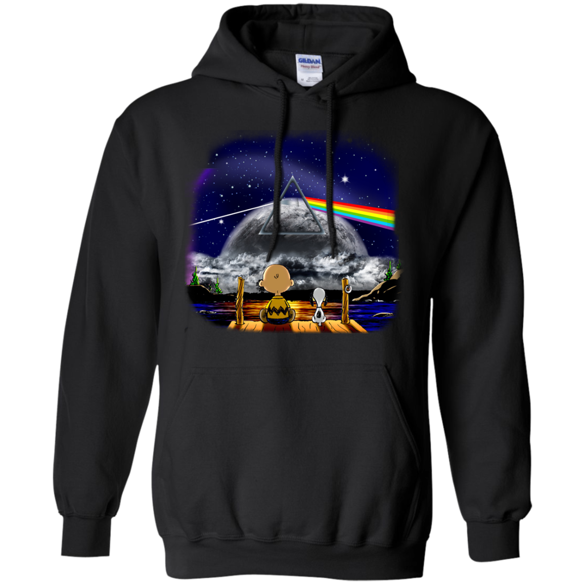 image 559px Snoopy: Pink Floyd Plays The Total Solar Eclipse August 2017 T Shirts, Hoodies, Tank
