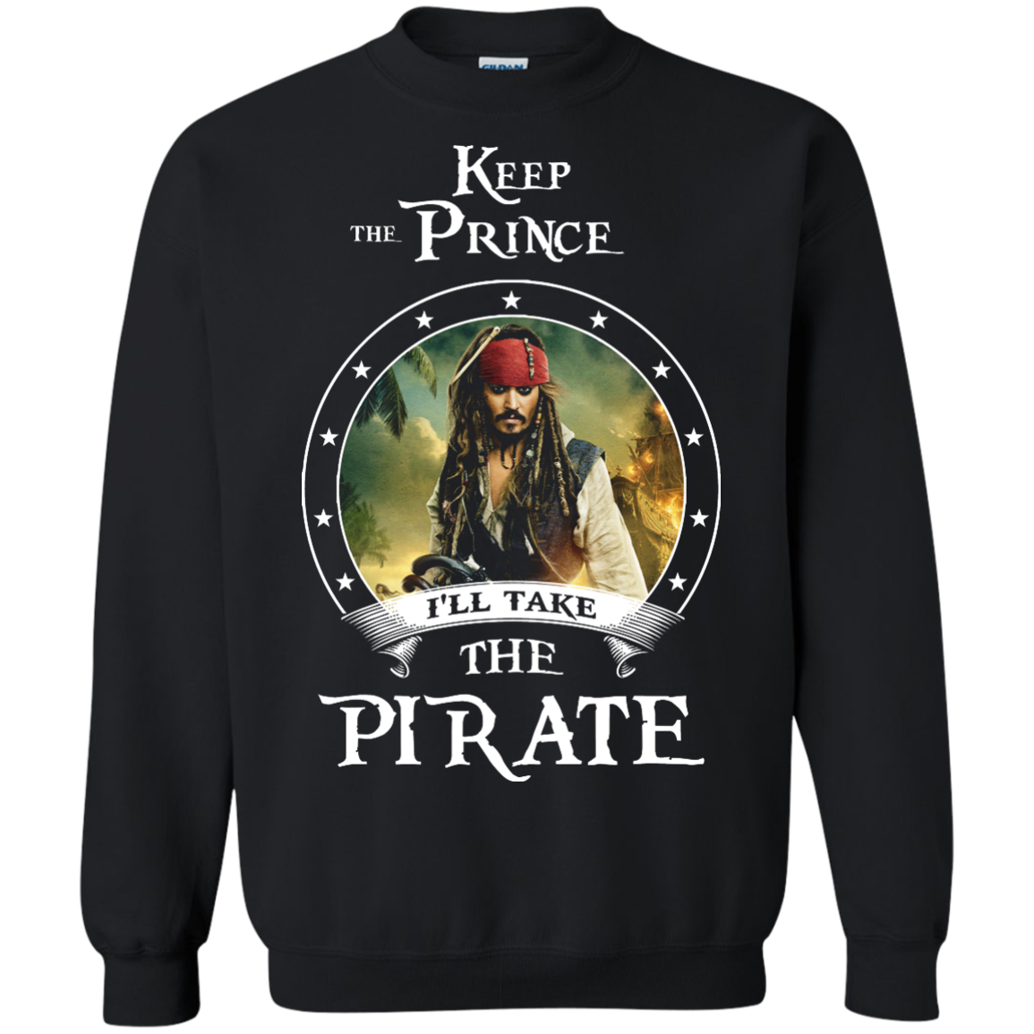 image 56px Pirates Of the Caribbean: Keep The Prince I'll Take The Pirate T Shirts, Hoodies