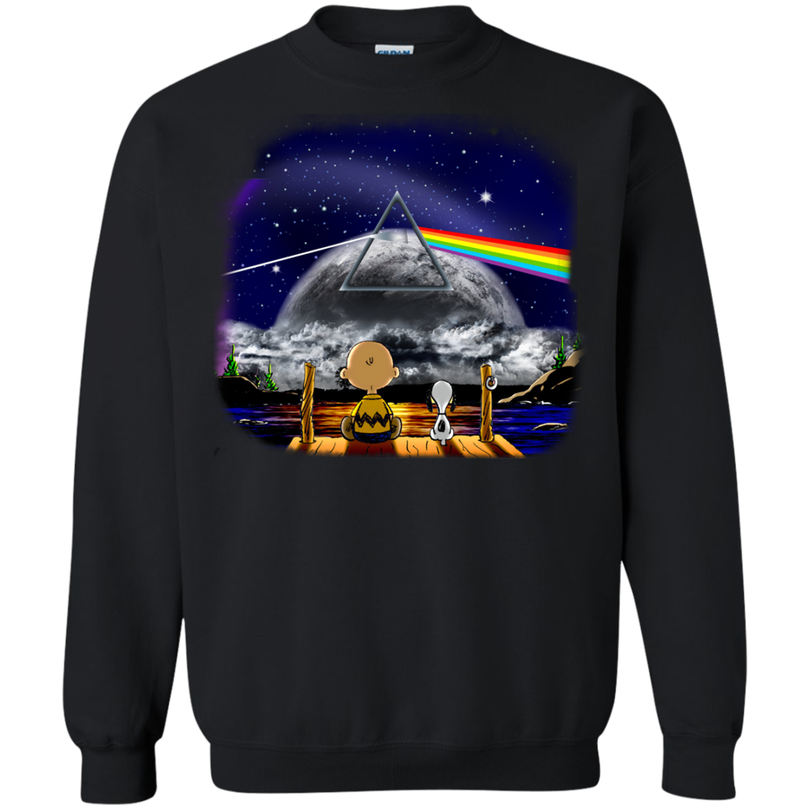 image 561px Snoopy: Pink Floyd Plays The Total Solar Eclipse August 2017 T Shirts, Hoodies, Tank