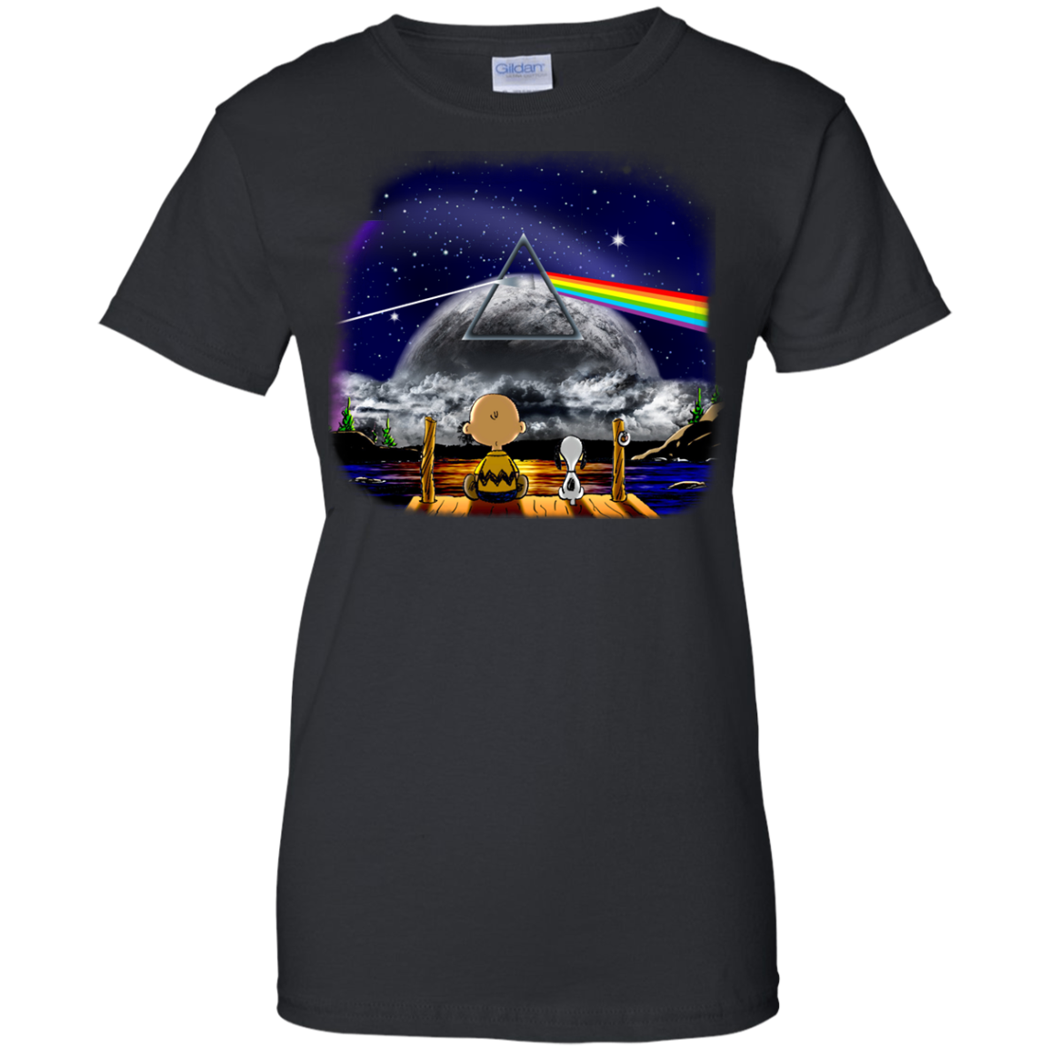 image 563px Snoopy: Pink Floyd Plays The Total Solar Eclipse August 2017 T Shirts, Hoodies, Tank