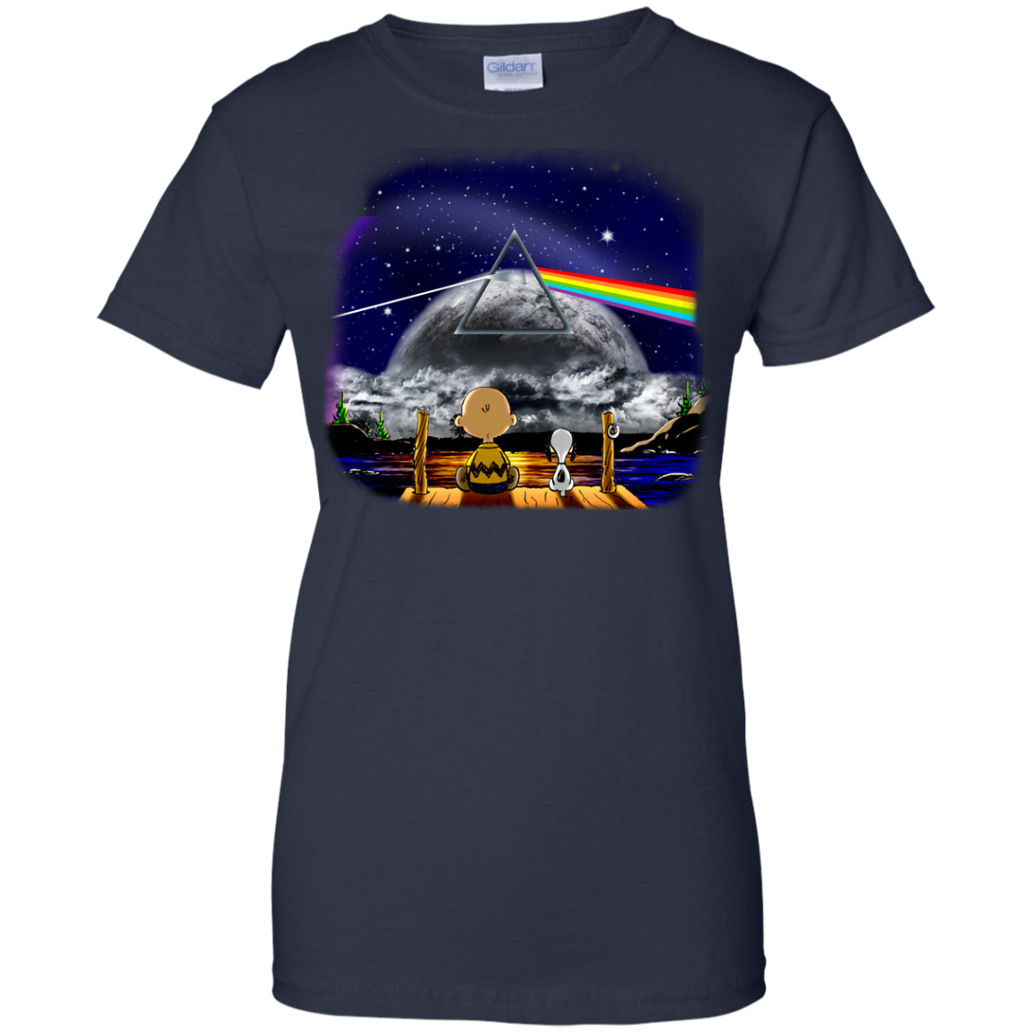 image 564px Snoopy: Pink Floyd Plays The Total Solar Eclipse August 2017 T Shirts, Hoodies, Tank