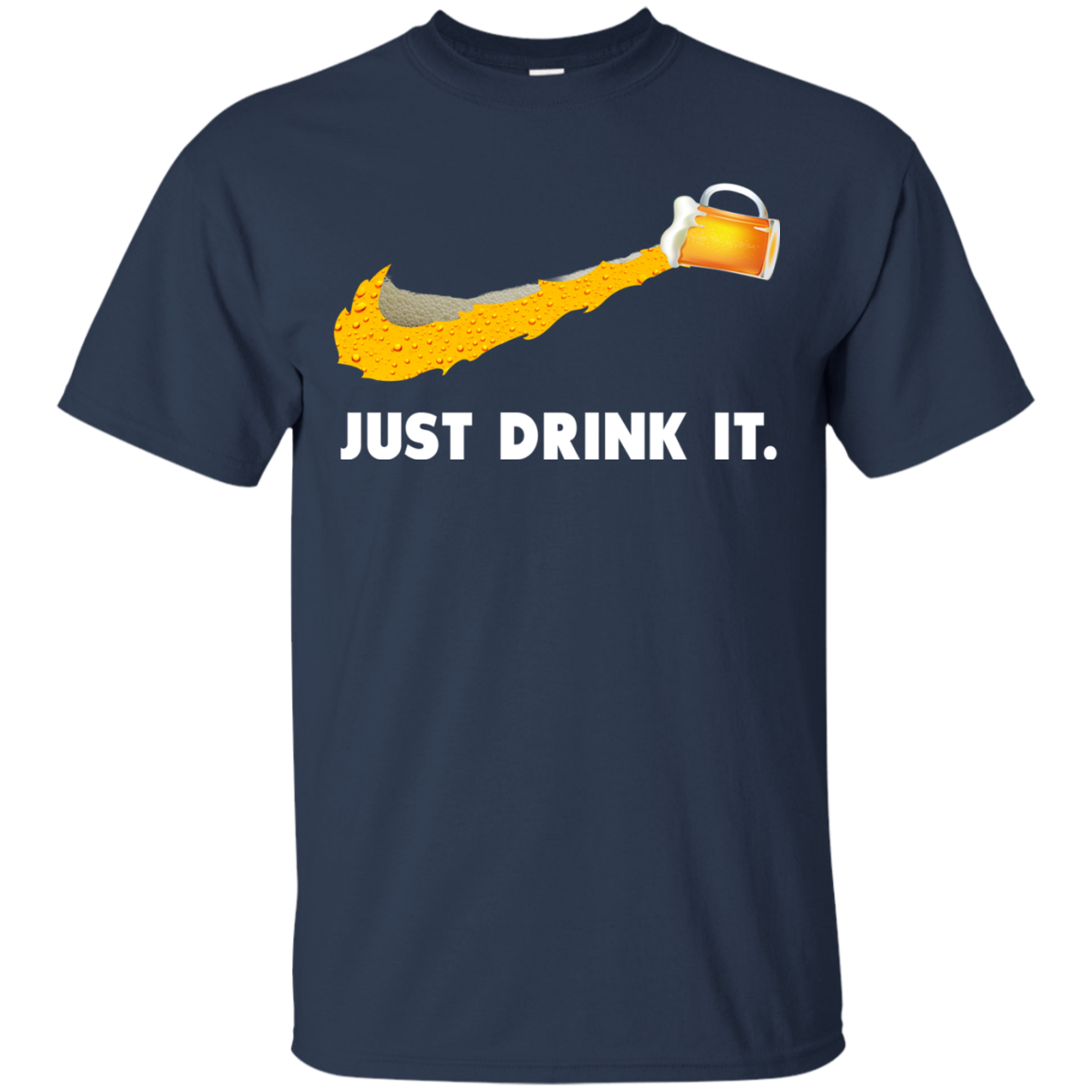 image 567px Love Beer: Just Drink It Nike Logo T Shirts, Hoodies, Tank Top