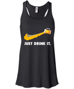 image 568 247x296px Love Beer: Just Drink It Nike Logo T Shirts, Hoodies, Tank Top