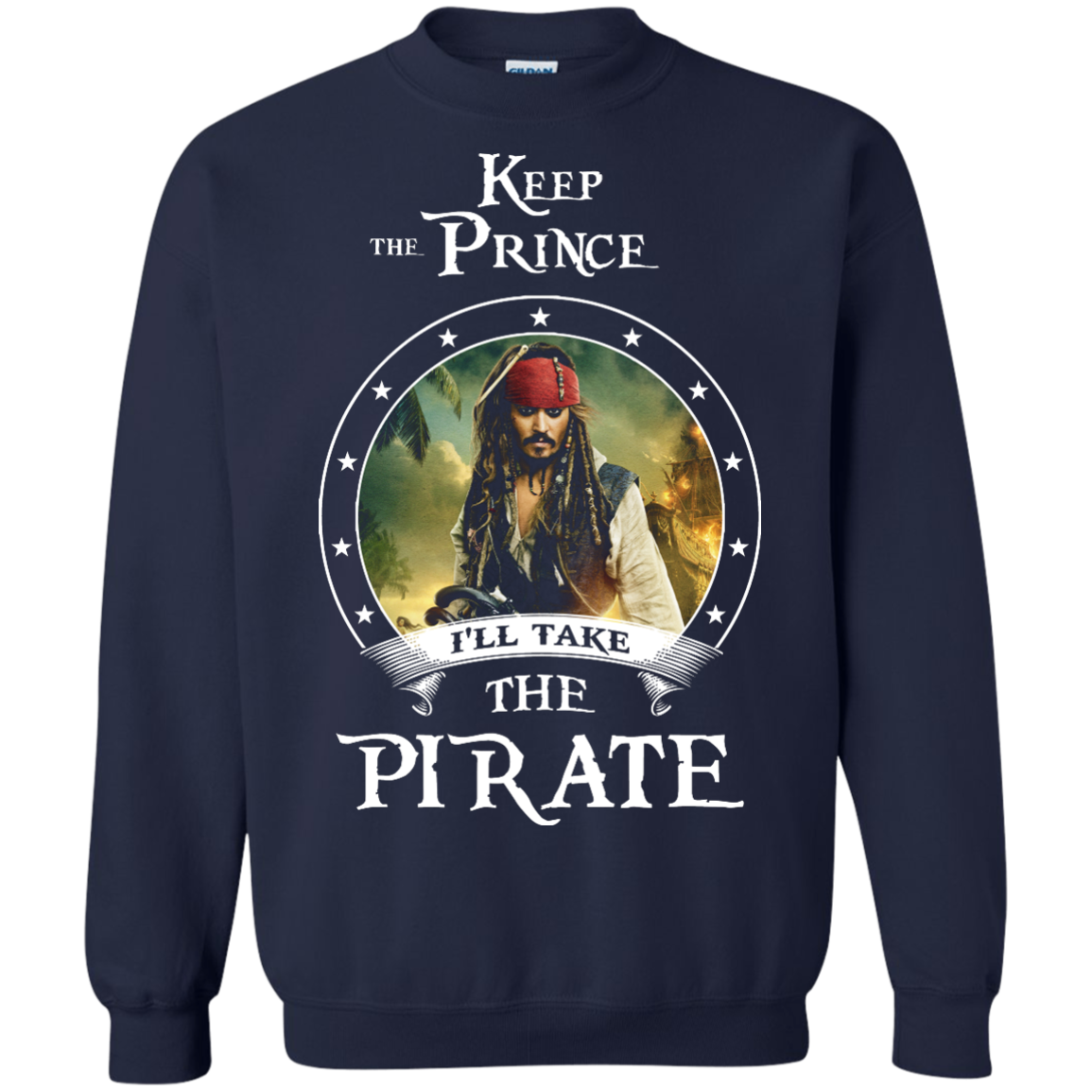 image 57px Pirates Of the Caribbean: Keep The Prince I'll Take The Pirate T Shirts, Hoodies