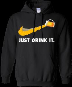image 570 247x296px Love Beer: Just Drink It Nike Logo T Shirts, Hoodies, Tank Top