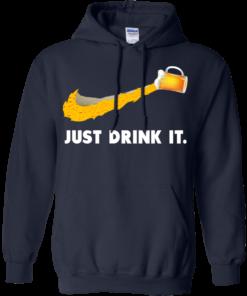 image 571 247x296px Love Beer: Just Drink It Nike Logo T Shirts, Hoodies, Tank Top