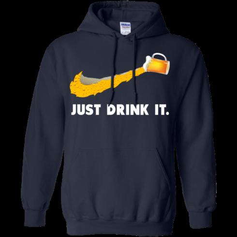 image 571 490x490px Love Beer: Just Drink It Nike Logo T Shirts, Hoodies, Tank Top