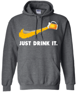 image 572 247x296px Love Beer: Just Drink It Nike Logo T Shirts, Hoodies, Tank Top