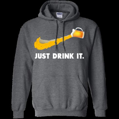 image 572 490x490px Love Beer: Just Drink It Nike Logo T Shirts, Hoodies, Tank Top